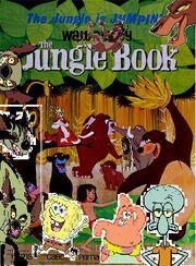 Spongebob's adventures in Jungle book.