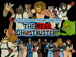Alex's Adventures with the Real Ghostbusters title card