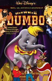 Benny, Leo, and Johnny's adventures of Dumbo Poster