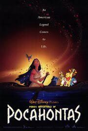 Pooh's Adventures of Pocahontas Poster
