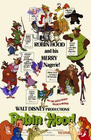 Simba, Timon, and Pumbaa's Adventures of Robin Hood poster