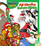 Pooh's adventures of The Penguins of Madagascar The All Nighter Before Christmas poster