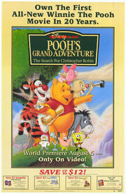SpongeBob and Pooh's Grand Adventure; The Search for Christopher Robin Poster