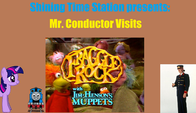 Mr. Conductor Visits Fraggle Rock