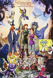 Spongebob and friends go on the quest for camelot verson 2