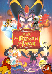 Aladdin and the return ofjafar poster