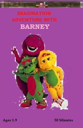 Imagination Adventure with Barney VHS Cover