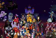 Pooh's Adventures Armada - Villains poster version 2
