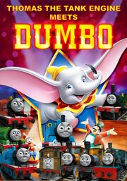 Thomas the Tank Engine meets Dumbo Poster