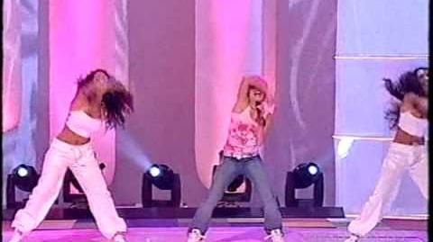 Kerli & Locatellies - Let's Go (Melodifestivalen 2003)