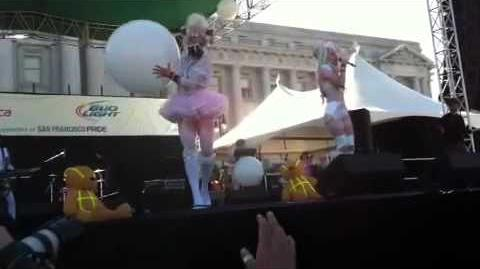 Kerli's performance at San Francisco Pride 2011 part 2