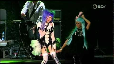 Kerli - Zero Gravity (Live at Vabaduse Laul 2011)