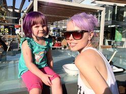 Kerli purple hair 9