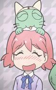 Kerocat and Natsumi