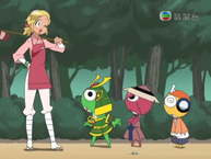 O Mois talking about the Keroro platoons stature