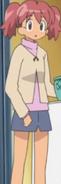 Natsumi in jher winter clothes