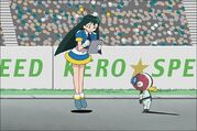 Poyon and Keroro in Episode 60a