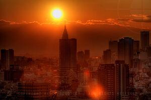 Tokyo Japan Apocalyptic