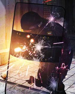 Riot-shield