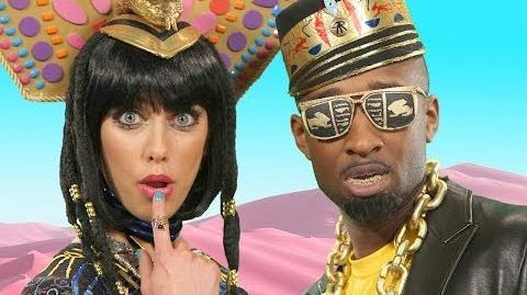 Katy Perry - Dark Horse PARODY Key of Awesome 85