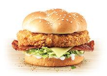 Burger originalrecipebaconcheese