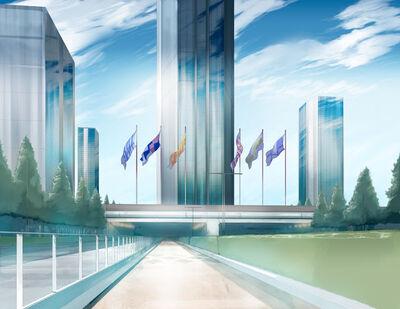 City Anime Landscape 23