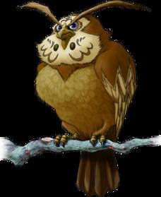 File:228px-567px-Kaepora Gaebora Artwork (Ocarina of Time).png