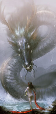 Dragon at the sea by creative artists-d5ucwvh