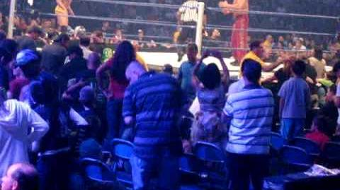 WWE Smackdown! 8-4-09 Live The Great Khali vs Ricky Ortiz (Kane Comes Out)