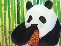 Pandas love bacon by pufferfly-d3k6kmi