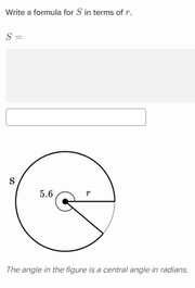 how to find arc length of a circle in radians