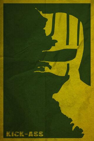 File:Kick ass minimalist poster by yamelme-d5z242x.jpg