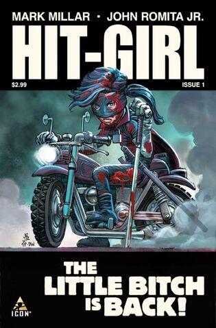 File:Hit-Girl cover of issue 1.jpg