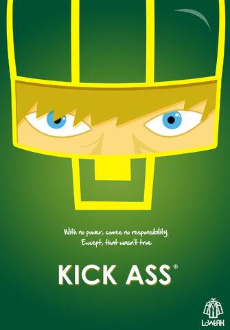 File:Kick ass minimalist poster by loweak-d5yftfl.jpg