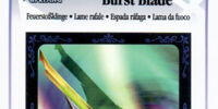 Burst Blade - AR Card
