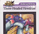 Three-Headed Hewdraw - AR Card