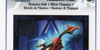 Thanatos Staff - AR Card