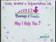 Kids World's Adventures of May I Help You