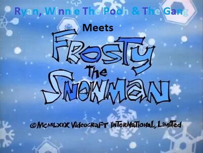 Ryan, Winnie The Pooh & The Gang Meets Frosty The Snowman