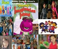 Bobby Cindy & Oliver's Adventures of Barney's Imagination Island