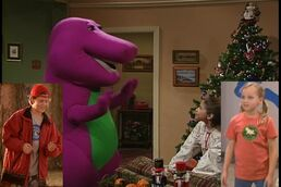Kids World's Adventures of Barney's Night Before Christmas (crossover)