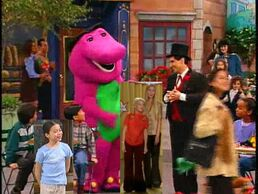 Kids World's Adventures of Barney's What a World We Share