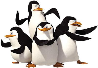 Skipper, Kolwalski, Rico, and Private