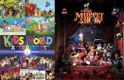 Kids World's Adventures of The Muppet Show