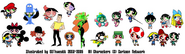 PPnS All Small Vector Cosplays 2