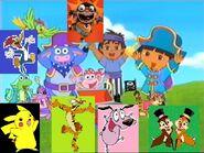 Kids World's Adventures of Dora's Pirate Adventure