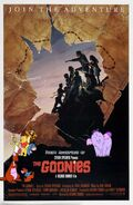 Pooh's Adventures of The Goonies Poster