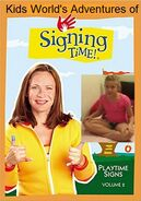 Kids World's Adventures of Signing Time - Playtime Signs