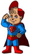 Alvin as Super-Munk