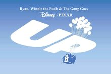 Ryan, Winnie the Pooh & The Gang Goes Up